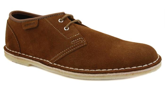 Chaussure en suède