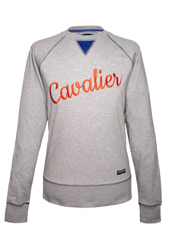 sweatshirt-cavalier-gris-chine