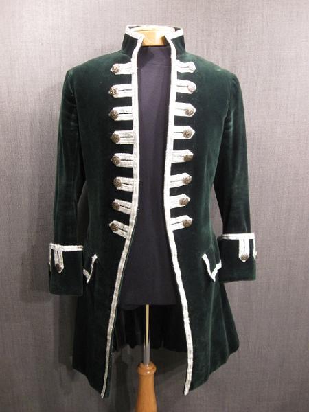 Veste de costume du 17ème siècle.