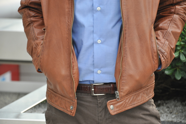 Vérazzano Leather Jacket