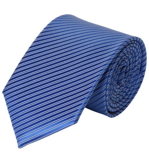cravate-bleue-rayee-16384