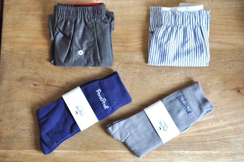 Peaupaul box sous vêtements underwear mode homme