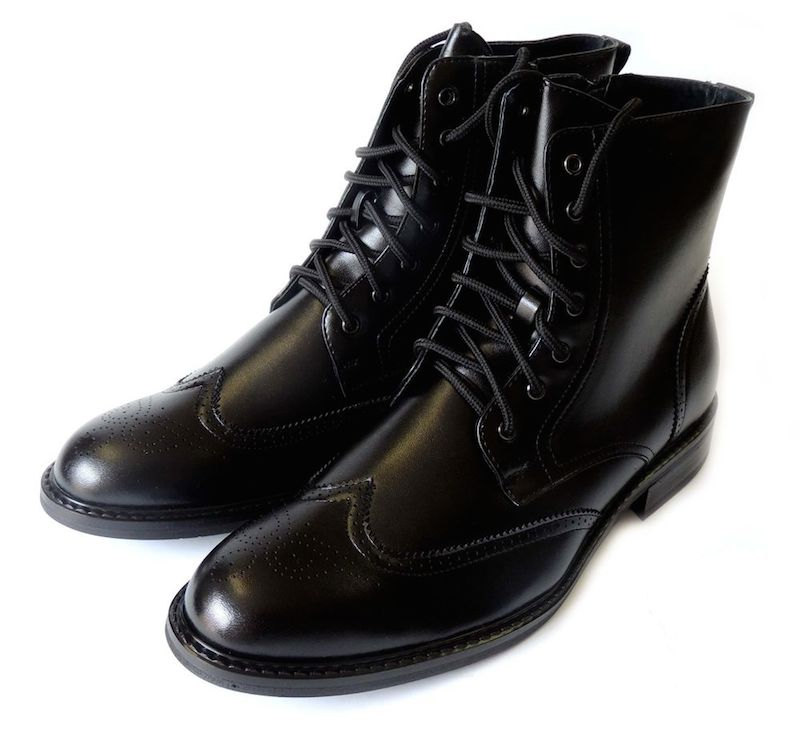 dress boots noires