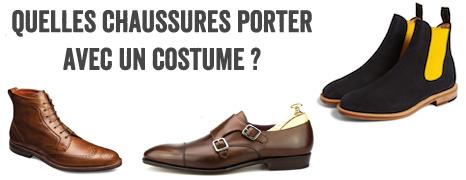 Quelles chaussures porter avec un costume   – Le Blog de Monsieur – Blog  mode homme 681b7f5aa00