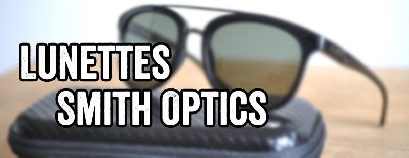 Lunettes smith optics