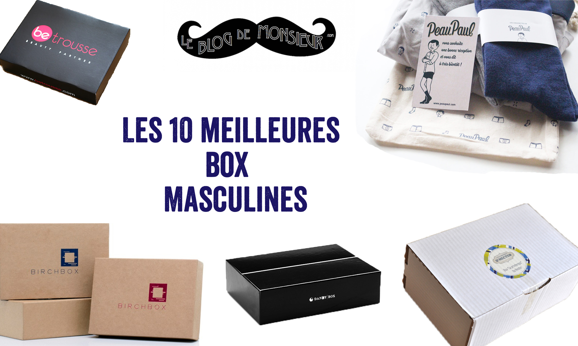les 10 meilleures box masculines le blog de monsieur blog mode homme. Black Bedroom Furniture Sets. Home Design Ideas