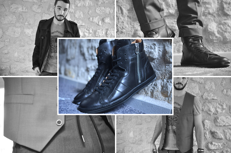 Sneakers montantes Florian Denicourt
