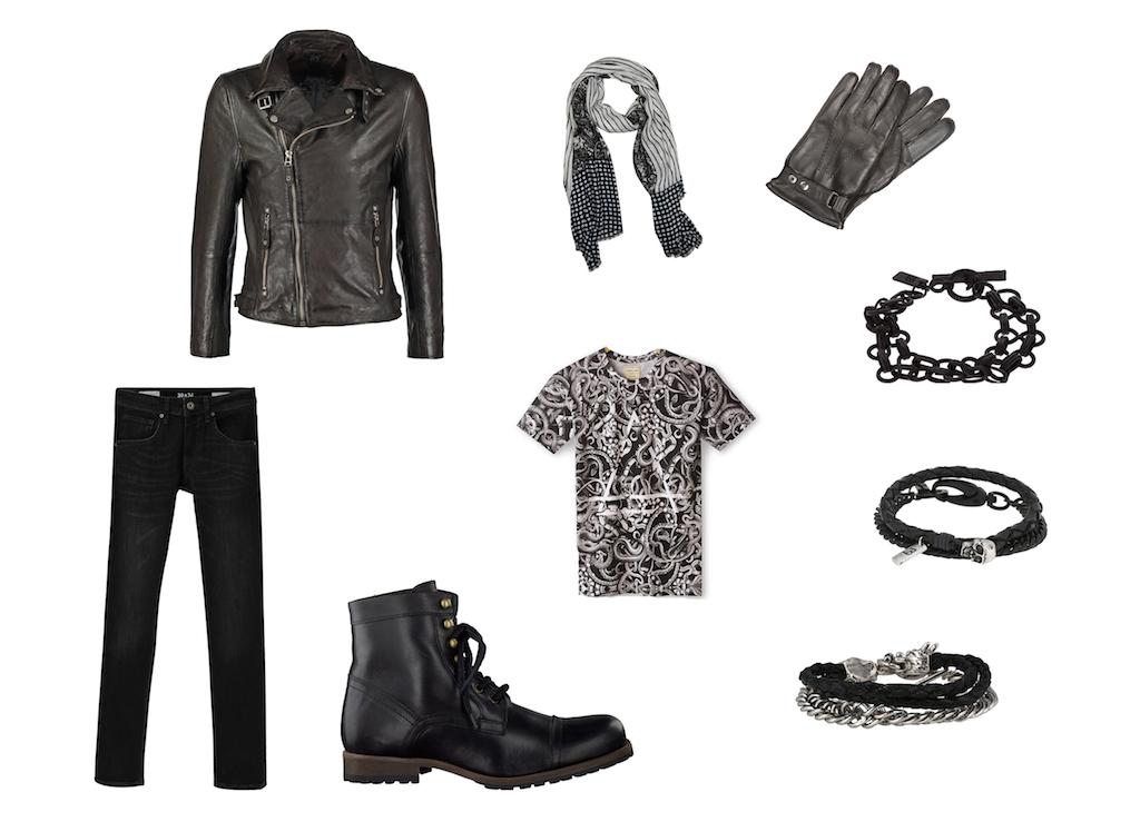 blog mode homme leblogdemonsieur look outfit style rock