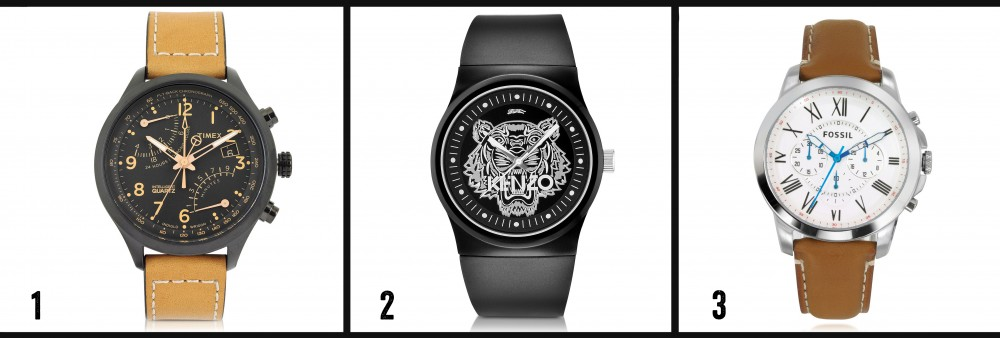 blog mode homme leblogdemonsieur selection montres kenzo fossil timex asos komono cheapo