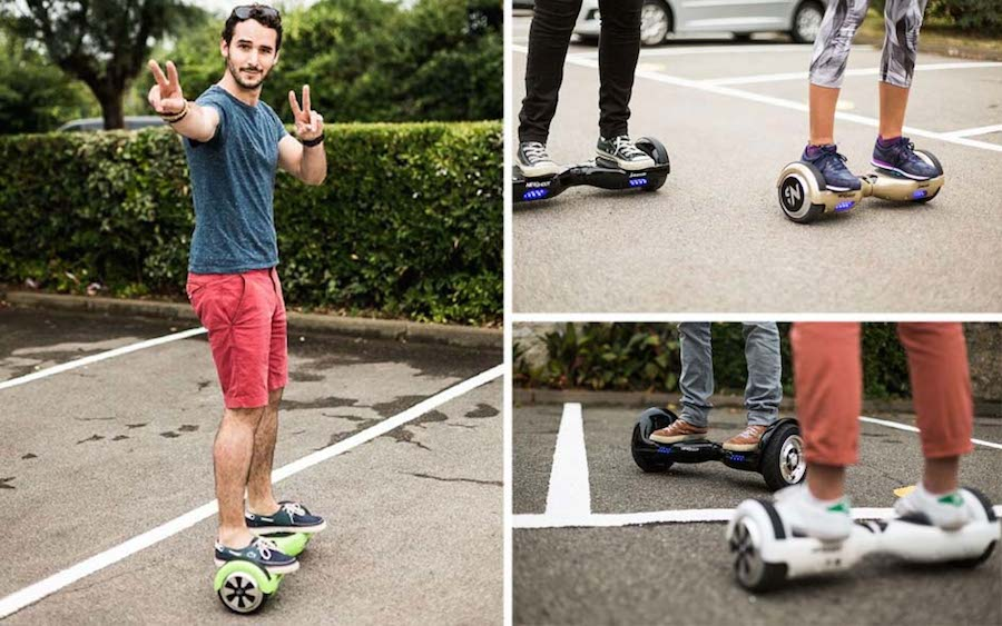 newshoot hoverboard test