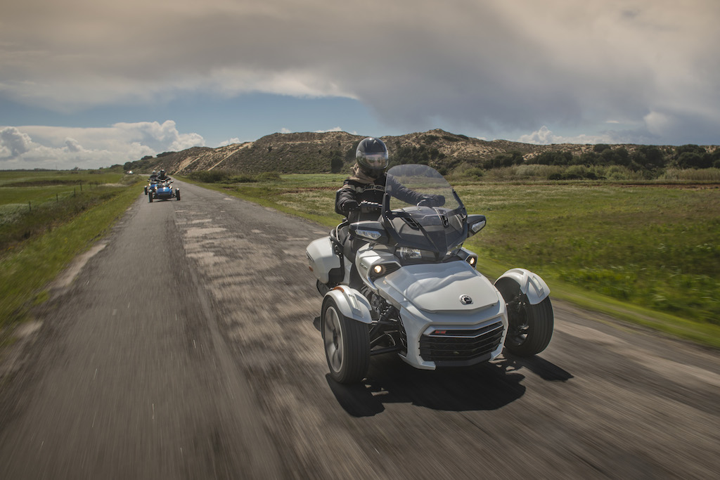 can am spyder test
