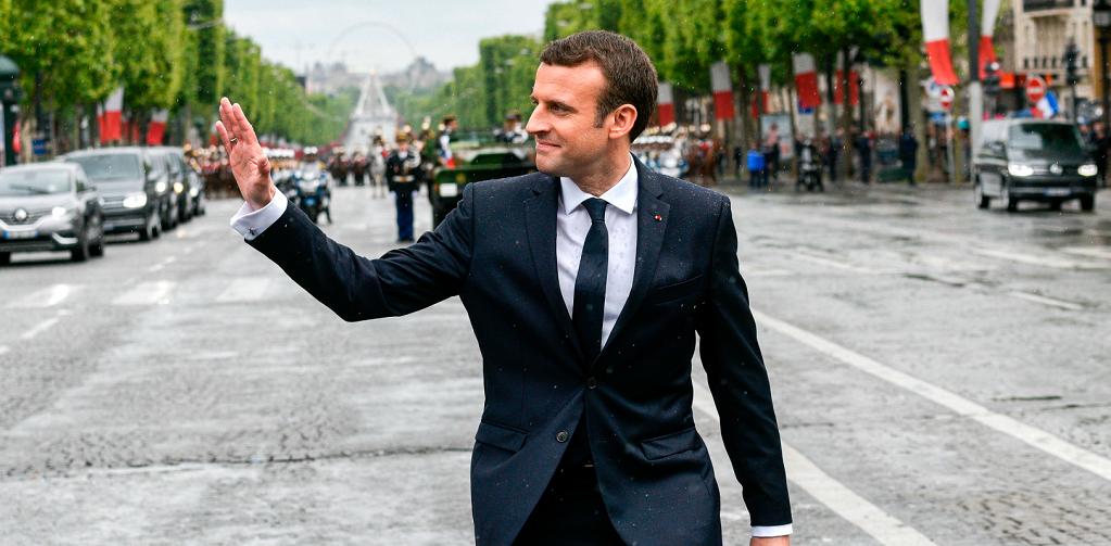 Le style de\u2026 Emmanuel Macron