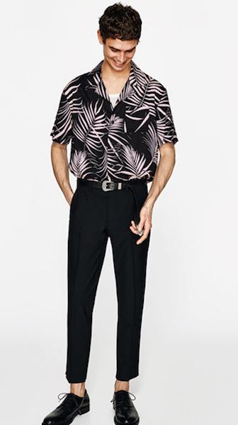 Les 7 tendances mode été homme 2018