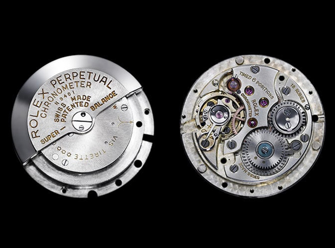 les montres mécaniques