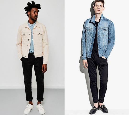 tendances denim jeans homme 2019