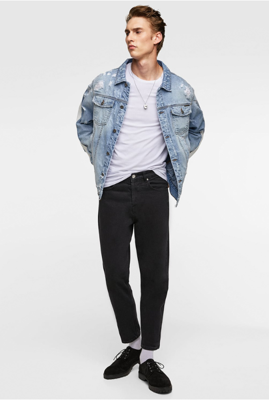comment porter look denim jeans homme