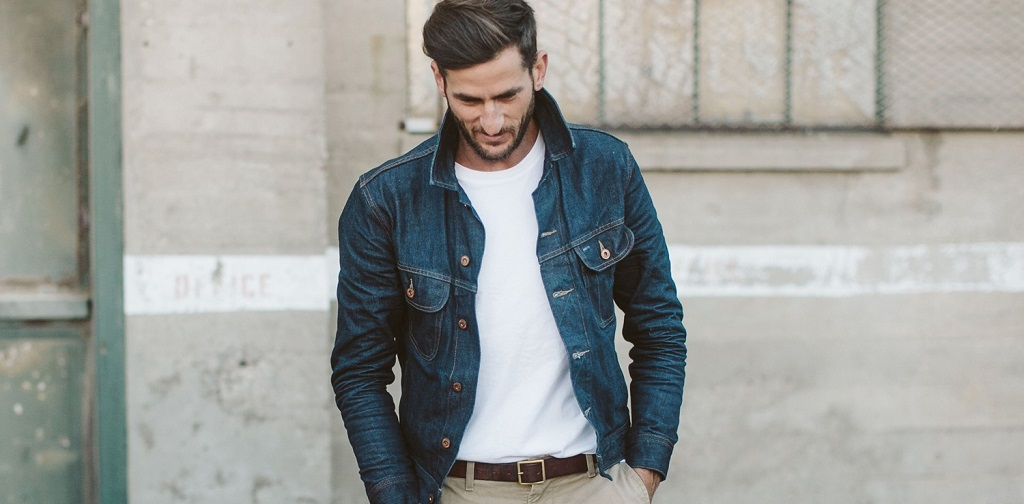style veste jeans homme