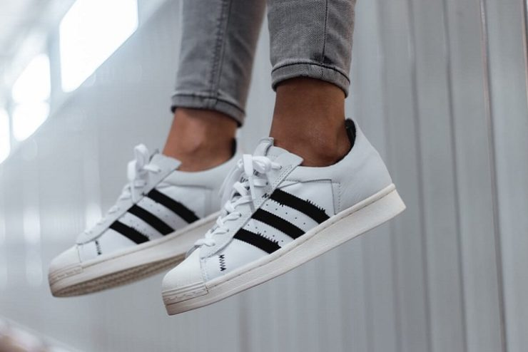 basket adidas superstar blanches