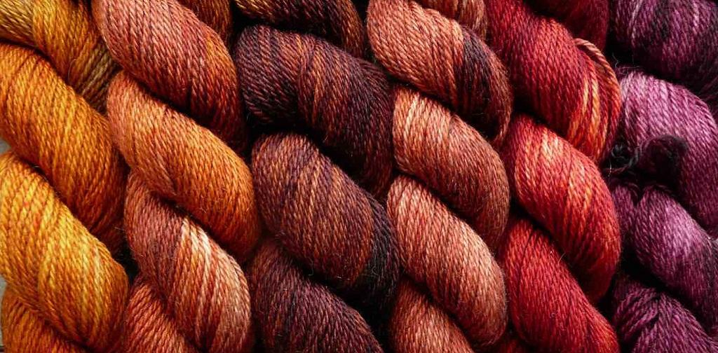 des fils de coton colorés