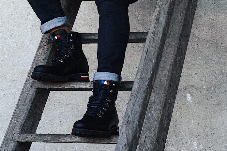 chaussures hardrige modèle baroud noir
