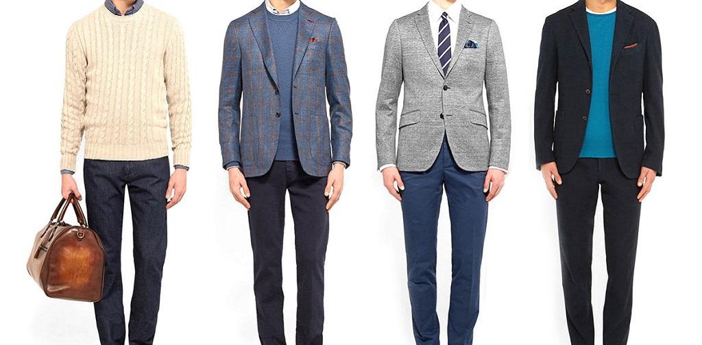 quatre styles business casual homme
