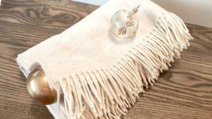 plaid en laine atelier particulier