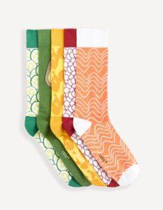 pack de chaussettes homme colorées