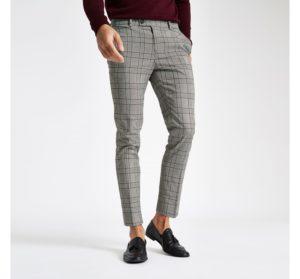 pantalon à carreaux homme