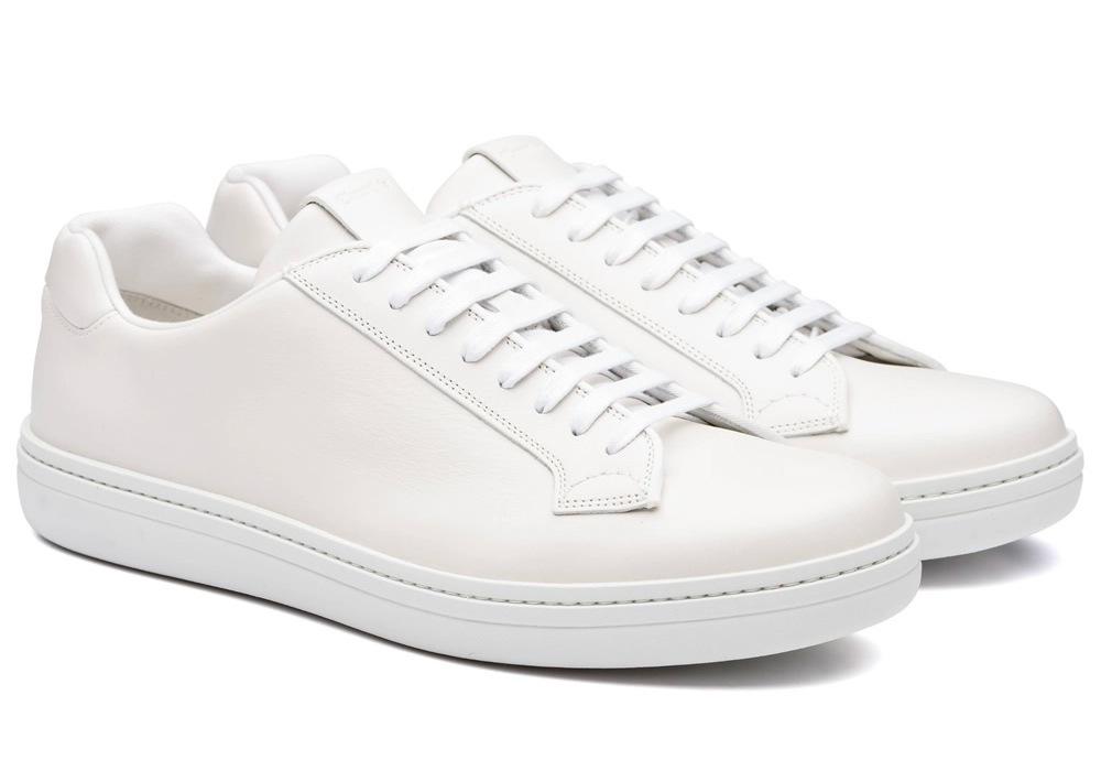 Baskets blanches premium modèle Mirfield de Church's