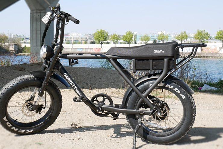 vélo garett miller électrique