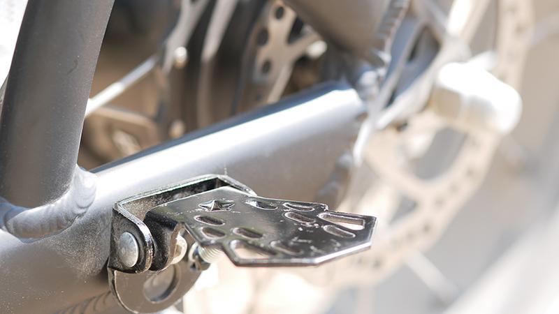 cale-pieds du vélo garett miller
