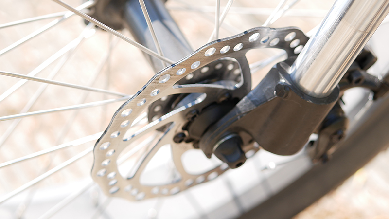 frein à disque du vélo garett miller