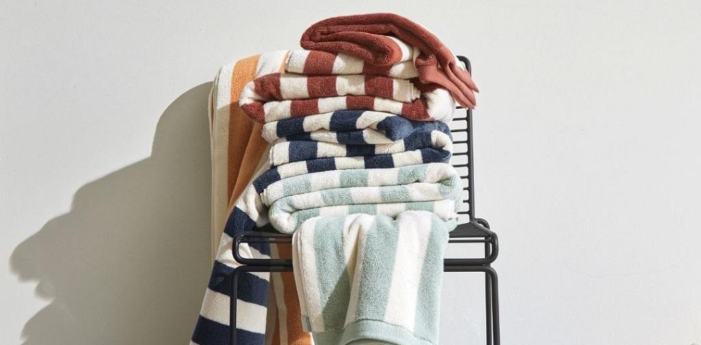 serviettes de bain