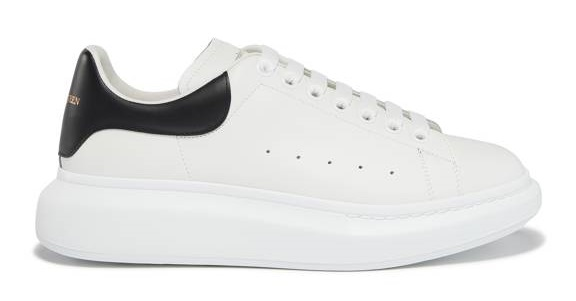 sneakers blanches homme oversize