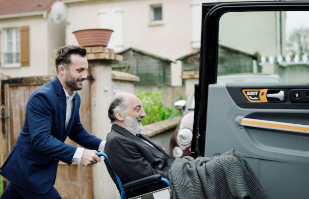 VTC Caocao black cab fauteuil roulant