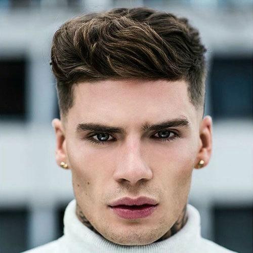 coupe de cheveux homme triangle