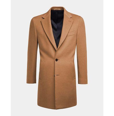 manteau camel homme