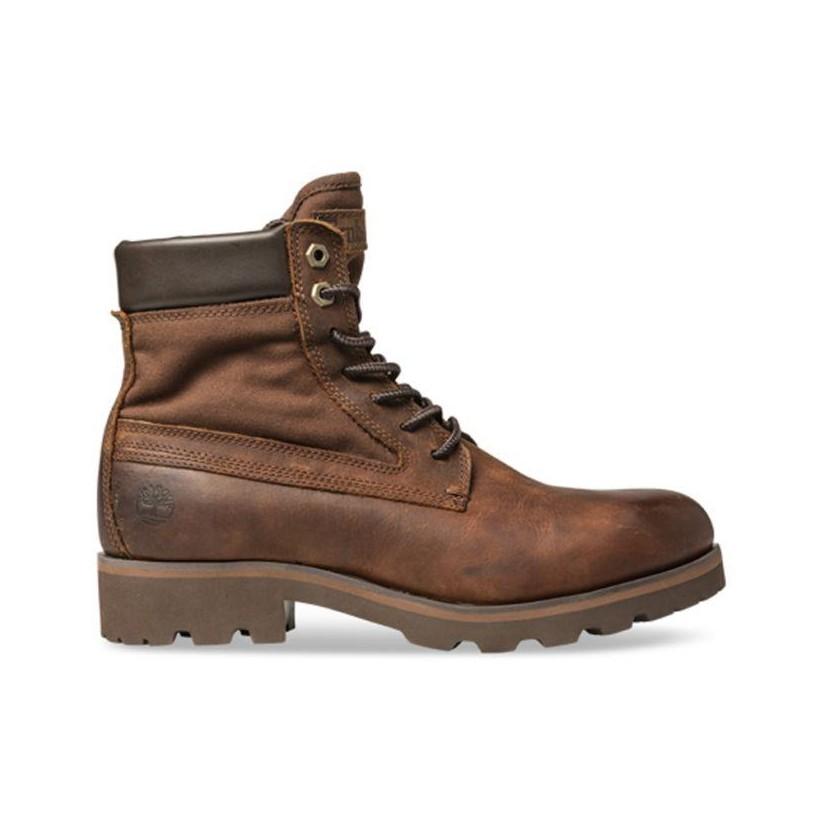boots de sécurité marron homme