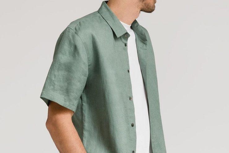 chemise homme manche courtes