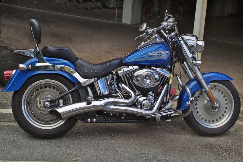 moto de collection Harley Davidson