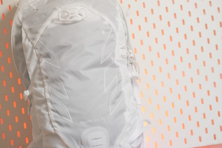 gros plan du sac Talon Ghost Osprey