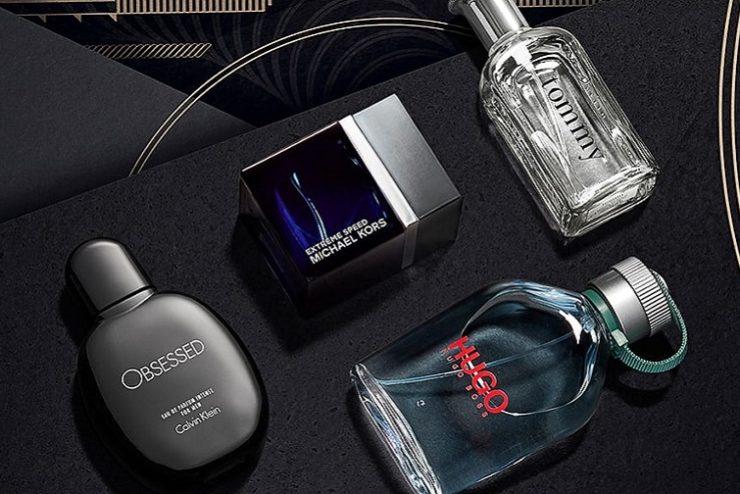 bouteilles parfums homme