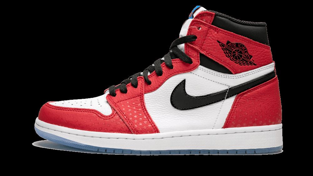 "baskets Nike Air Jordan 1 ""Spider Man"" pour homme"