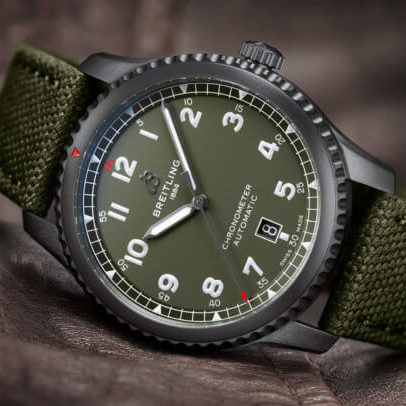 montre breitling type militaire