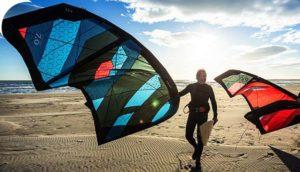 voile de kit surf